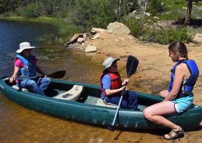Canoeing!