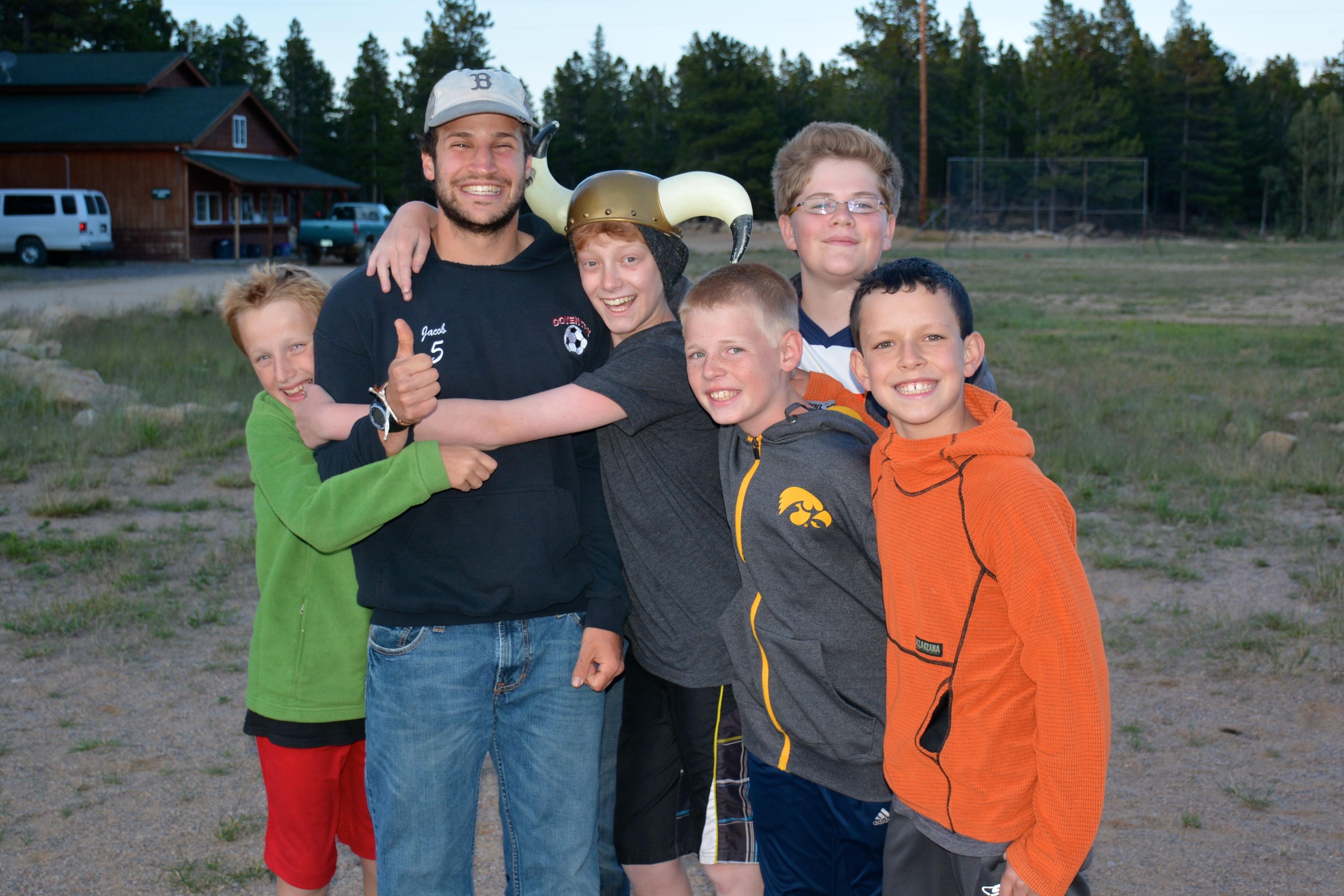 Image of campers having fun at Camp Granite Lake